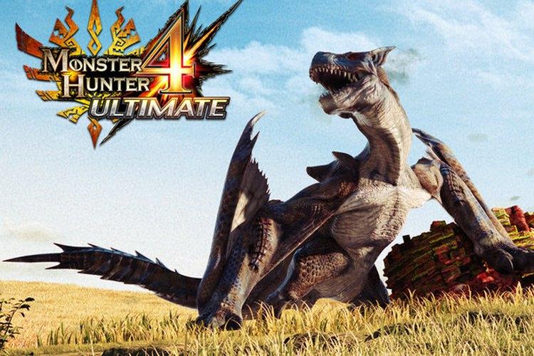 Captura del trailer sobre el avance de Monster hunter 4 ultimate