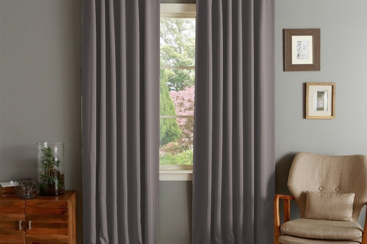 Las cortinas térmicas son de un grosor tal que ayudan a que no ingrese el frío exterior.