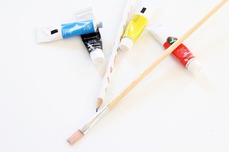 Estos son los materiales que necesitas.