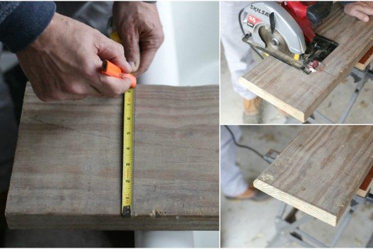Prepara la madera.