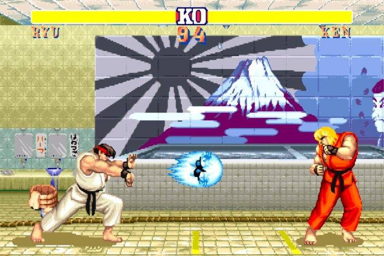 Pelea entre dos de los personajes más populares de Street Fighter