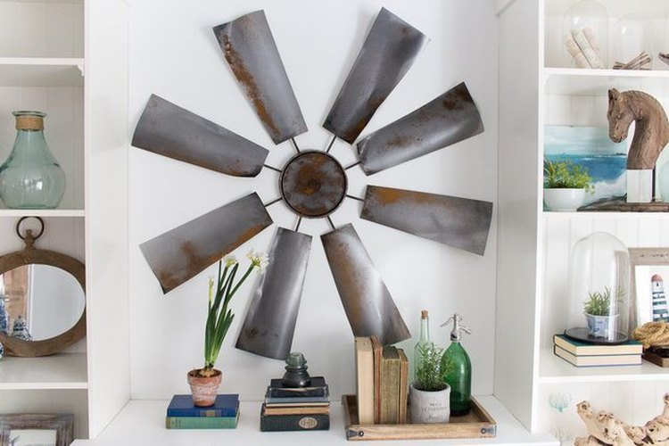 Incorpora un molino a la decoración de tu hogar.