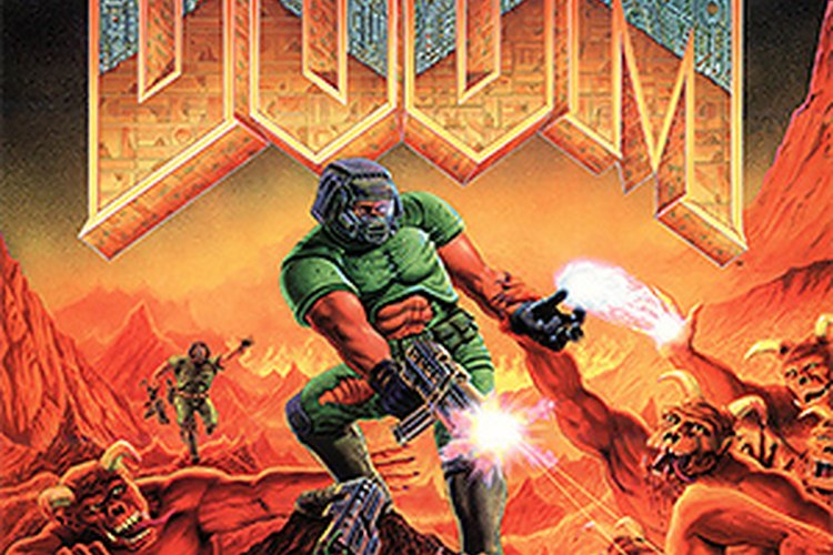 Tapa del videojuego Doom