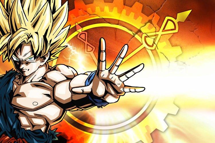 Imagen de Goku, uno de los personajes principales del juego.