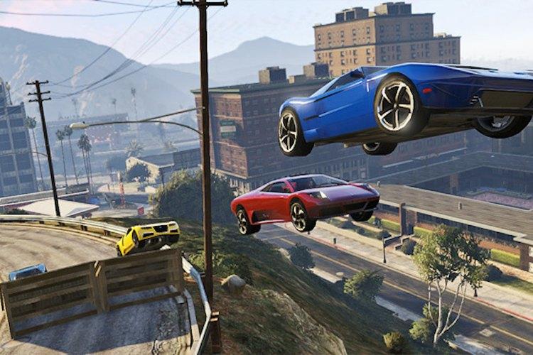 Imagen de una secuencia de acción en el juego
