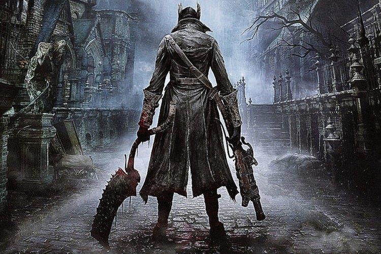 Plano del personaje principal del juego de espaldas a la cámara