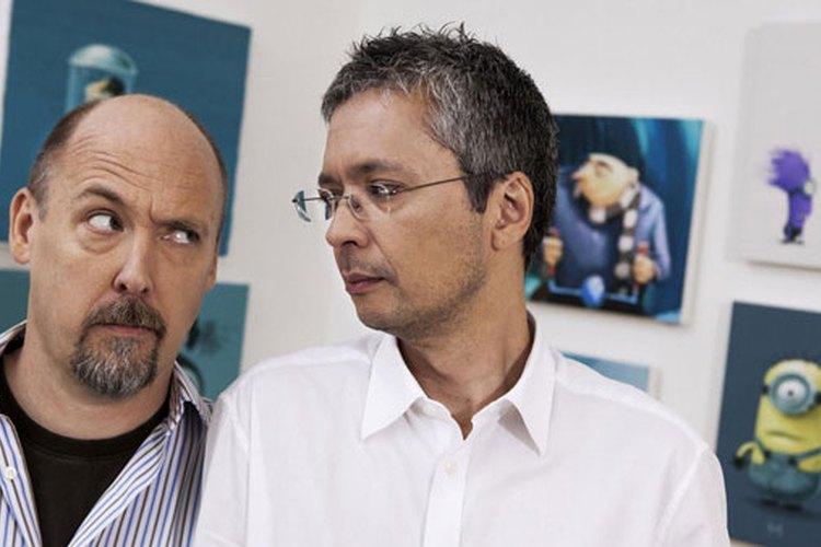 Pierre Coffin y Chris Renaud, la voz de los minions.