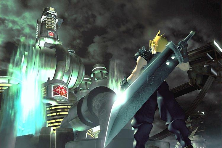 Afiche de promoción del Final Fantasy 7