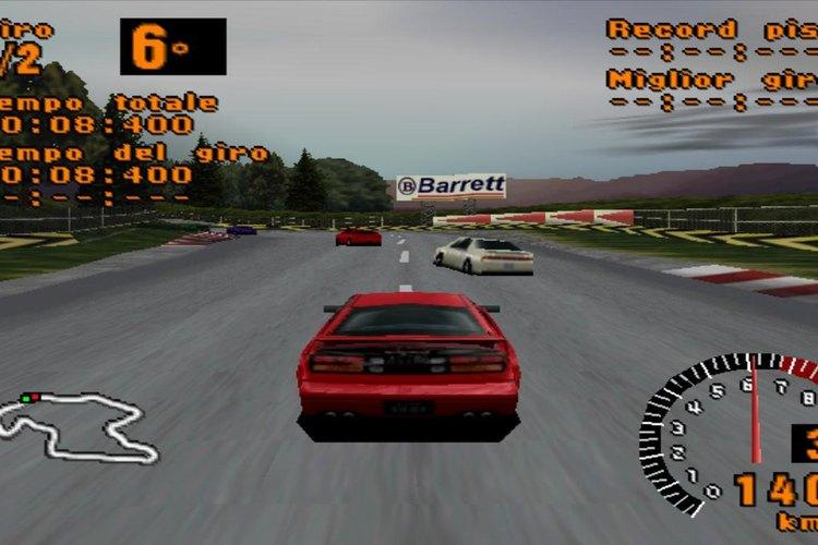 Captura de pantalla de la primera edición del Gran Turismo