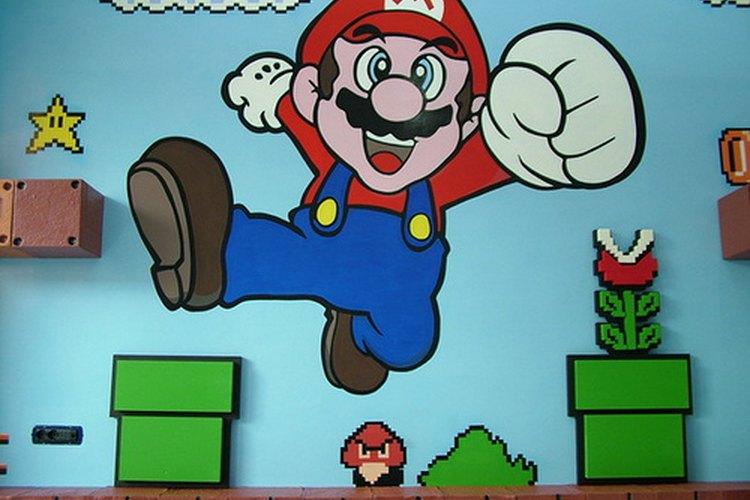 Imagen de Mario, uno de los personajes más populares de los videojuegos