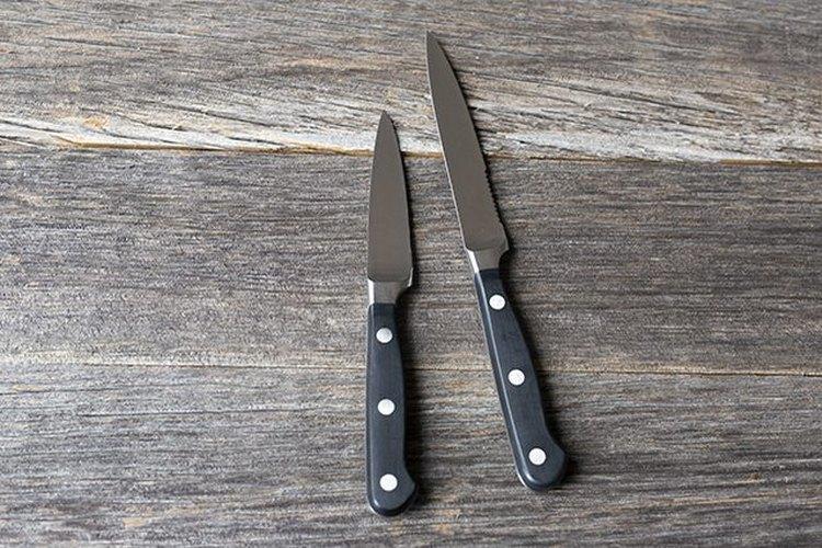 Los cuchillos de pelar te serán útiles en muchas ocasiones.