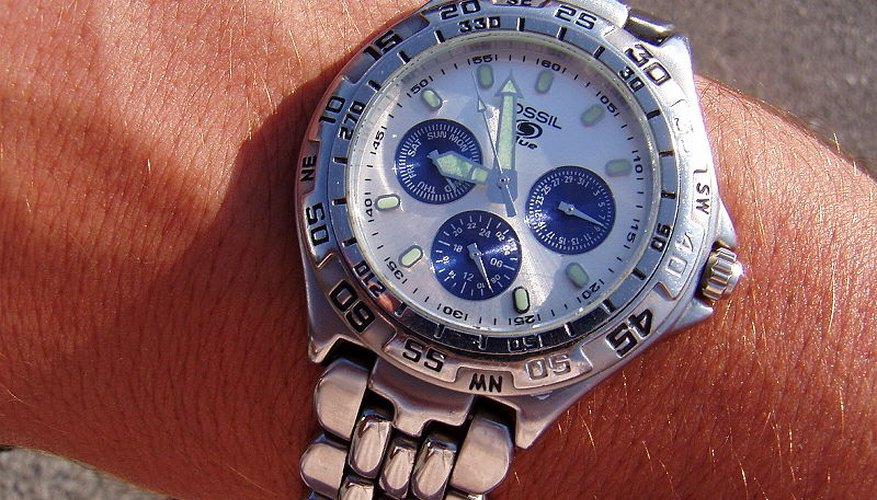 A classic Fossil watch.