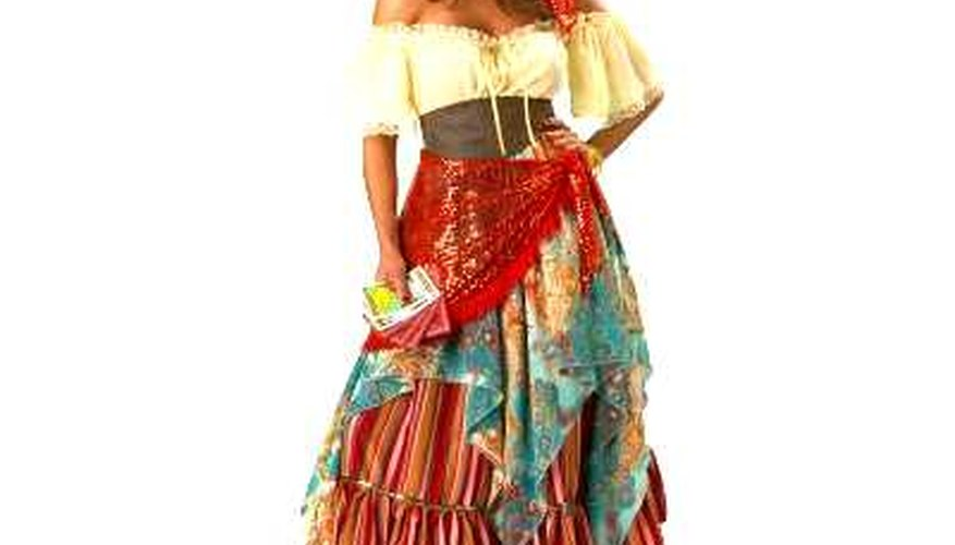 Gypsy dress? Bold, sexy and colourful