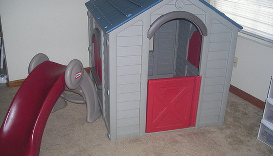 A Little Tikes playhouse is a sturdy toy for indoor or outdoor use.