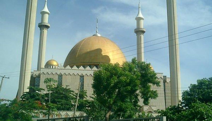 Abuja National Mosque, Nigeria.