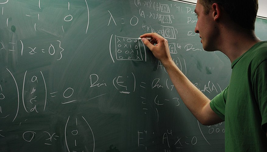 Dyscalculia inhibits a person's ability to understand math.