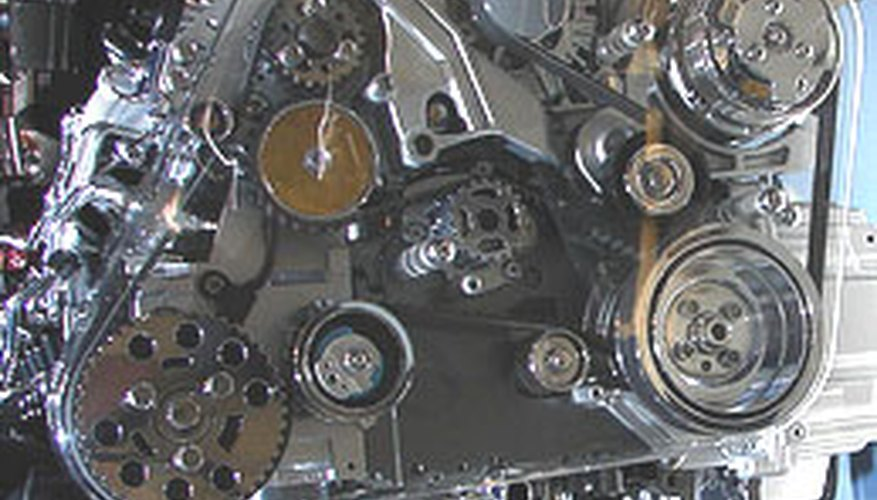 A serpentine belt keeps a car's devices running smoothly.
