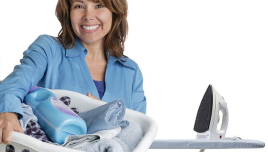 Set up an ironing business
