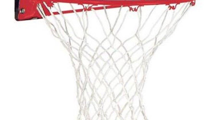 Standard mountable basketball goal