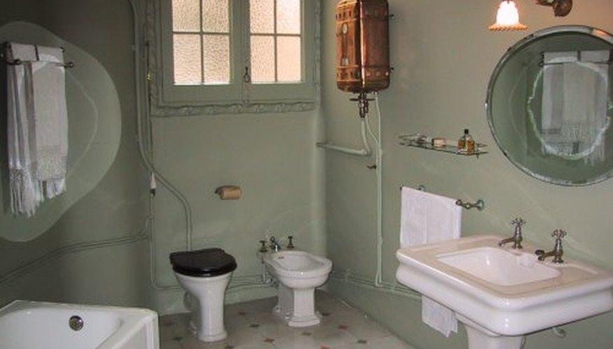 Clean your bathroom!