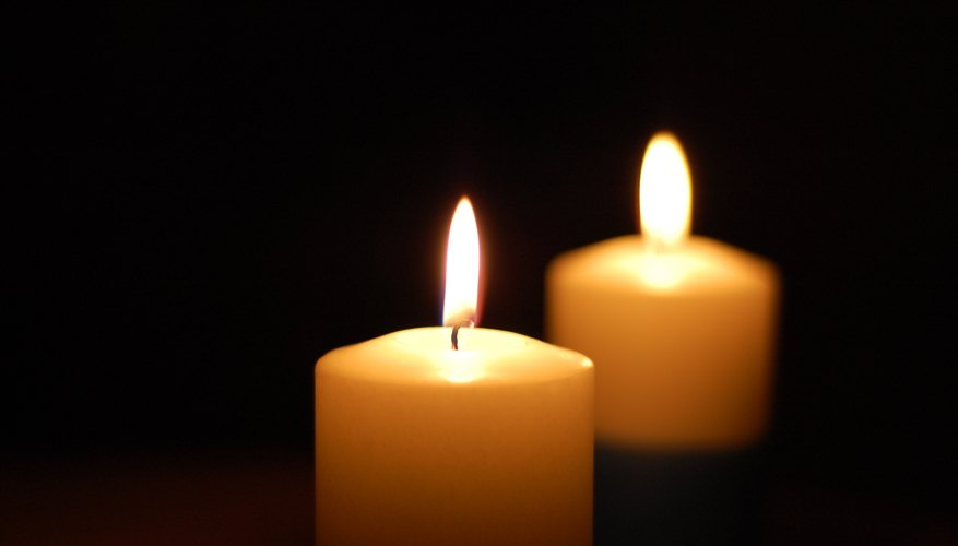 Candles should not be thrown away.