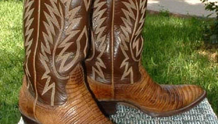 Lizard cowboy boots