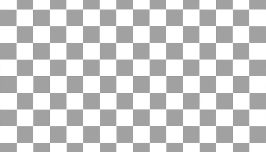 A chequered background in Photoshop could take you by surprise.