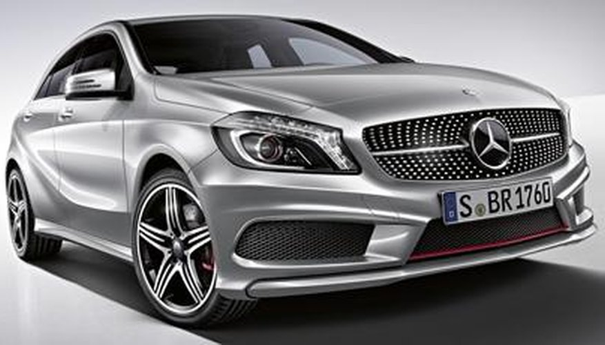 The Mercedes A Class has a boot lockout feature.