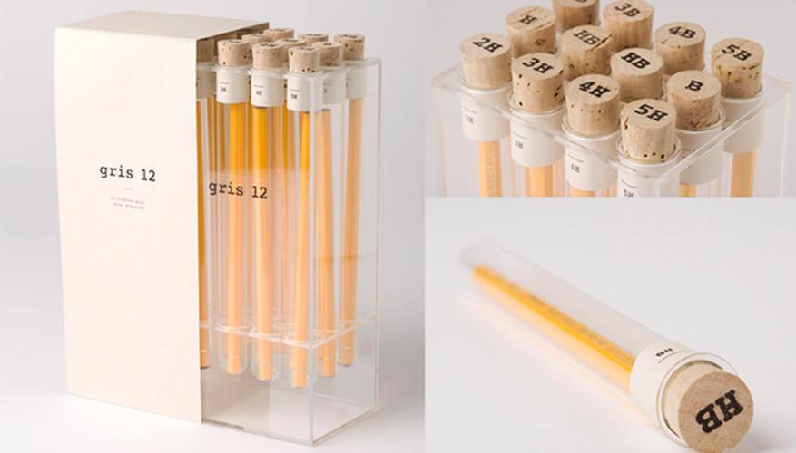Los lápices de laboratorio, un diseño de Kevin Angeloni.