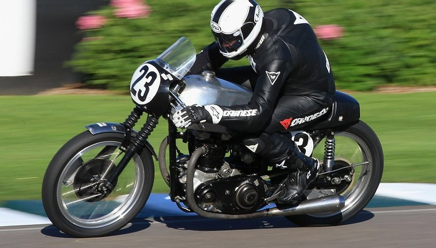 Motorcyle mudguards are sometimes made from plastic or resin.