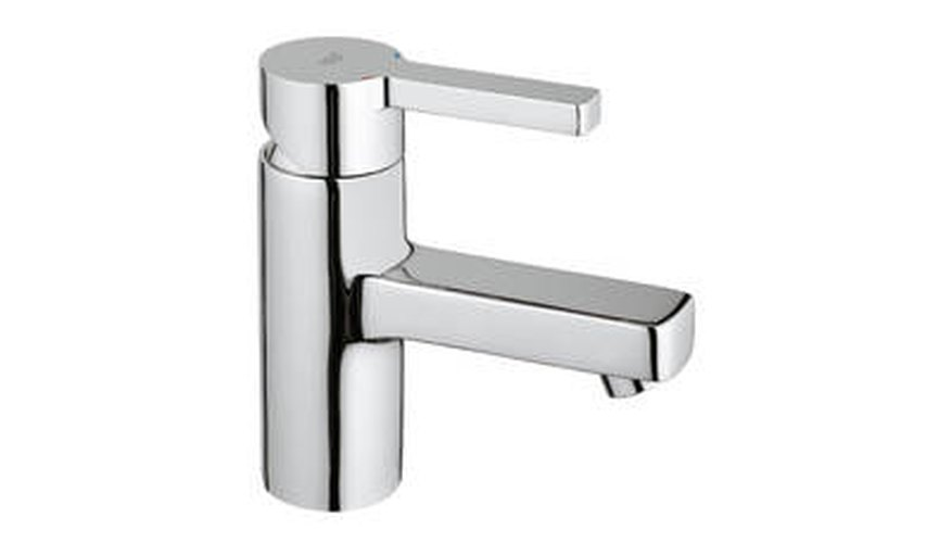 The Grohe Linear basin mixer tap.