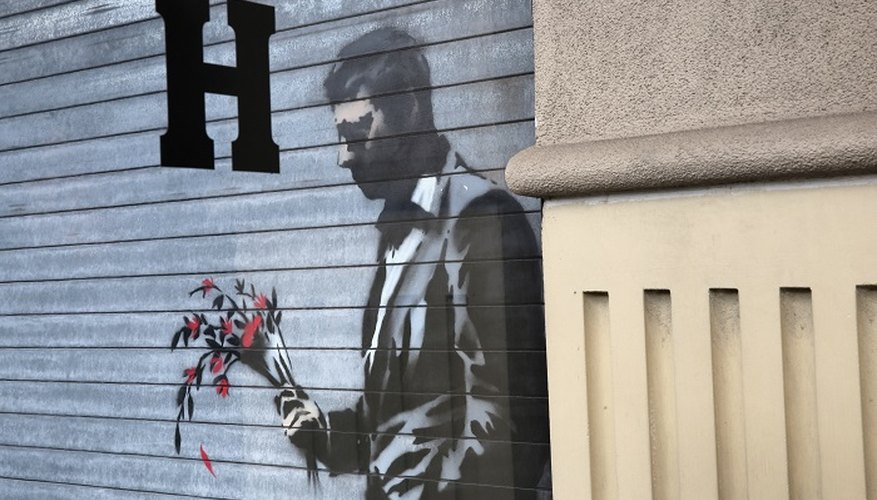 Learn to make stencils in the Banksy style.