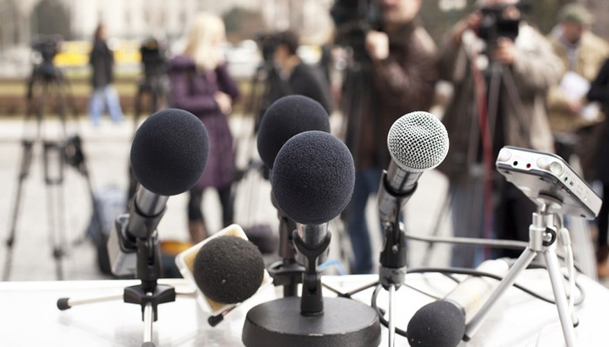 Company spokespeople may be asked to read the statement to TV, radio and press journalists.
