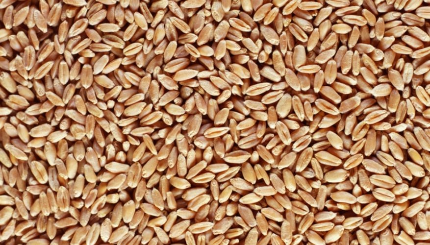 Fill a soft bag with wheat for warm pain relief.