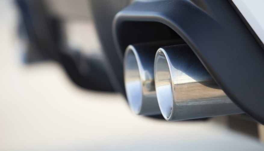 Painting an exhaust requires careful preparation.