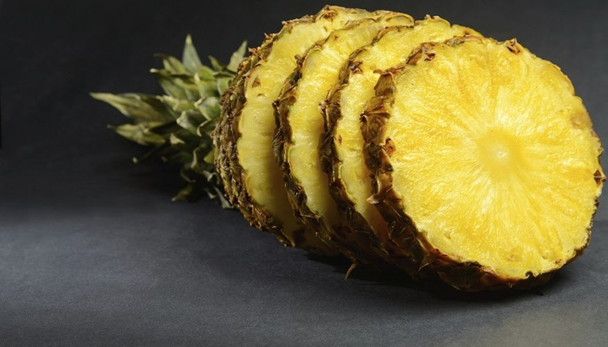 Once you cut open a pineapple, oxygen takes over.