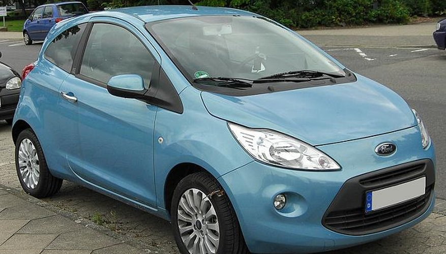 The second generation Ford Ka.
