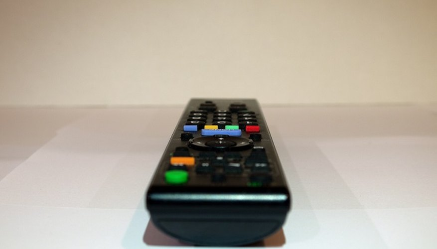 You need to program your Panasonic remote control to work with your specific TV.