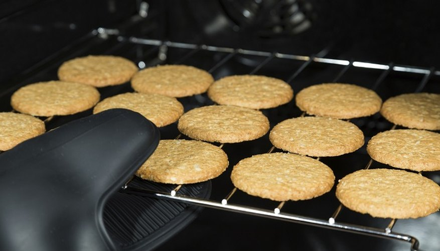 Keep your food warm and free of bacteria in the oven.