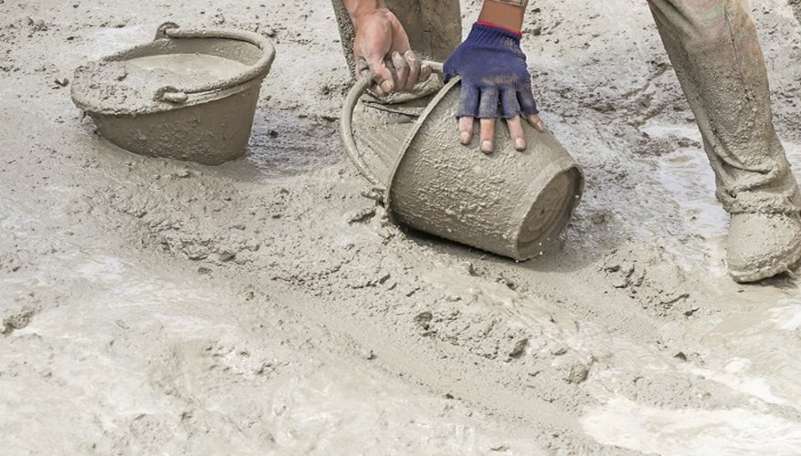 Getting cement on your skin can lead to a nasty chemical burn.