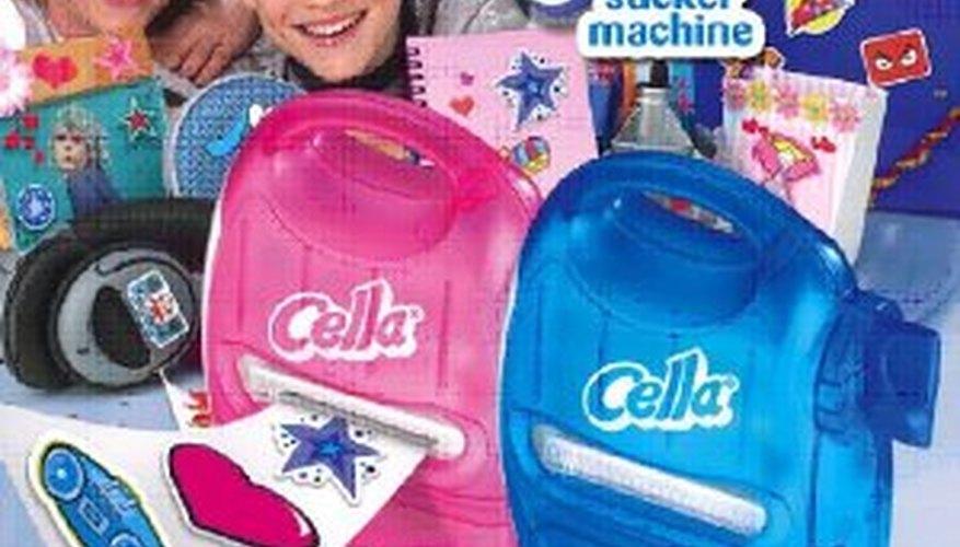 Tomy's sticker maker is called the Cella Sticker Machine.