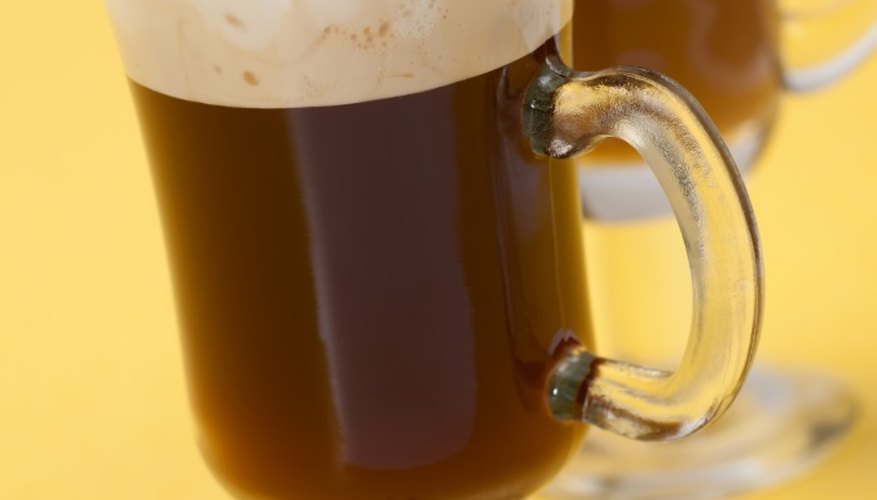 Black sambuca is delicious in coffee.