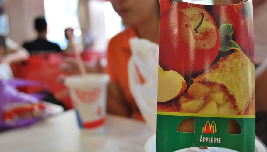 The interior of a McDonald's apple pie is renowned for retaining its heat.