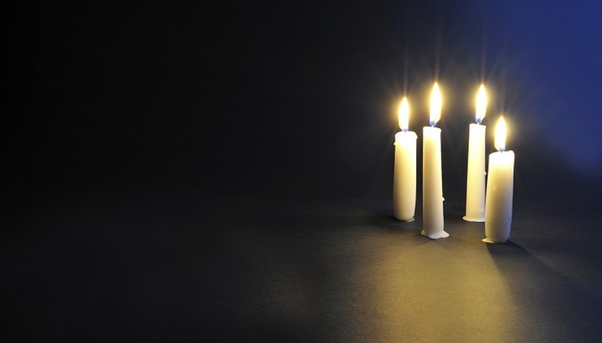 Candles add a homely glow to your living room but they can make a real mess.