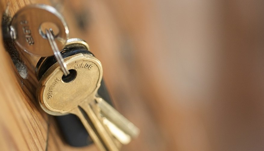 Take your old house keys to a recycling centre.