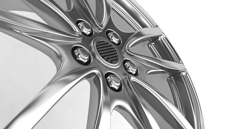 A clear coat will protect your car's aluminium wheels.