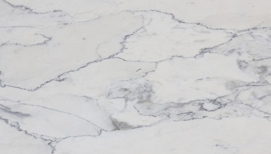 With proper maintenance, outdoor marble table tops can stay looking good.