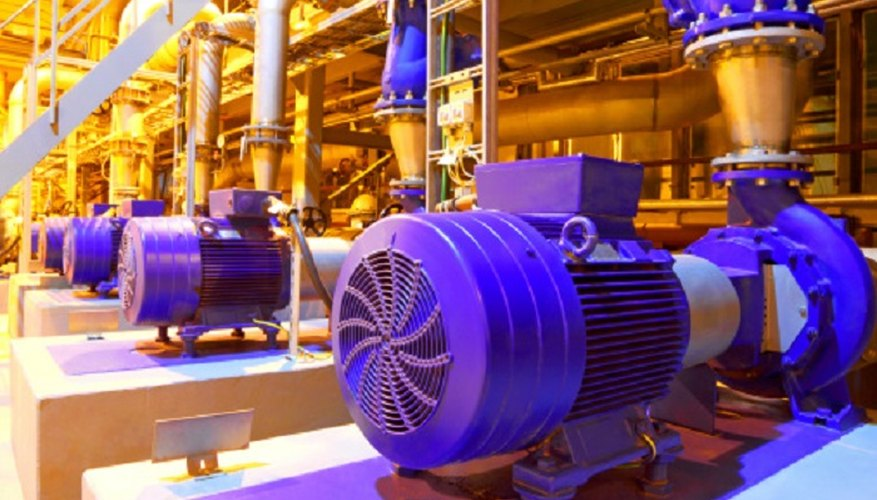 You need to convert your motor's power consumption into kWh to determine its running cost.