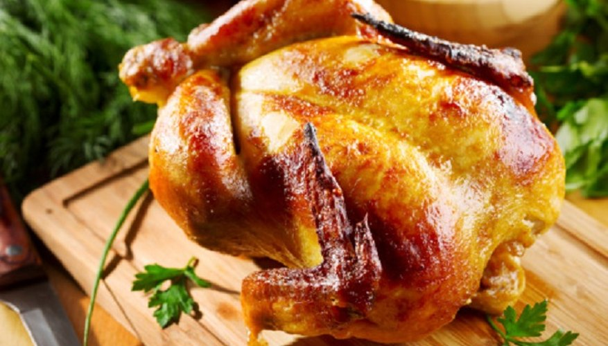 You can still cook delicious chicken in an electric oven.