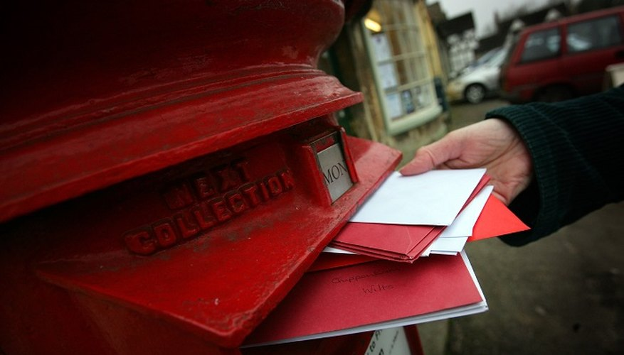 A properly addressed envelope could potentially make a good impression.